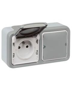Plexo WN - Geconnecteerd stopcontact