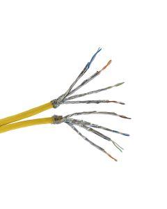 Multimedia kabel voor satelliettoepassing 1 x 4 paren - 2150 MHz - lengte 250 meter - geleverd op haspel - gewicht 21 kg