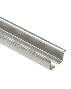 Rail symmetrisch-te zagen-2m diepte 15 mm langwerp. Gaten