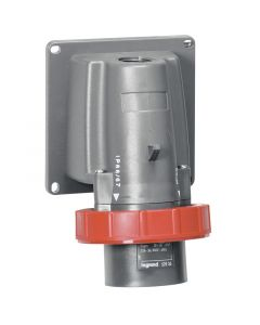 Toestelcontactstop 32A - 3h - 440V - 3P+A - CEE - IP44 - kunststof - Hypra - koelcontainer