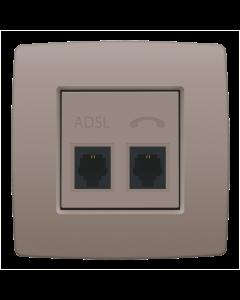 CPL ADSL  - TEL GREIGE