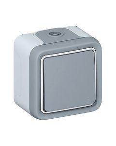 Plexo wissel DIY grijs volledig apparaat