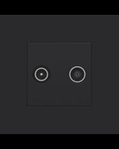 CPL  AANSLUITING TV/FM BLACK