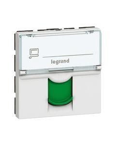 RJ45 cat 6 FTP 2 mod groen LCS² Mosaic groene kleur