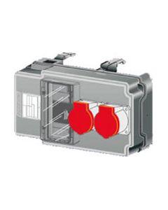 Zucchini aftakdoos .MRf 8mod. 2 contactd.CEE 230V-3P+N+A-16A
